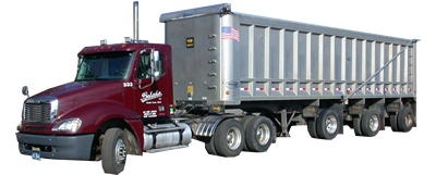With Behnke Specialized, we can haul your scrap iron, gravel, or any other commodity that requires a dump trailer.